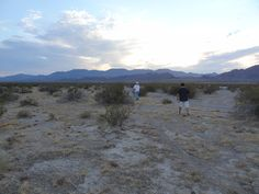 Osvaldo and Ken looking for some more hidden graves