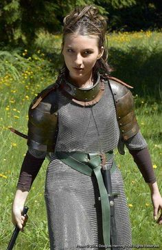 Tagged with awesome, medieval, armor, womenfashion, itreallywhipsthellamasass; Women in armor compilation Fantasy Female Warrior, Female Armor, Female Knight, Fantasy Armor, Warrior Women, Viking Armor, Medieval Armor, Medieval Fantasy, Sca Armor