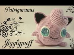 DIY Jigglypuff amigurumi en ganchillo - crochet - YouTube