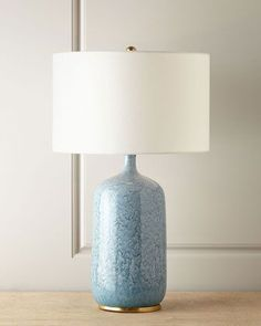 Aerin Lauder's sophisticated sensibility shines in the design of this lamp.