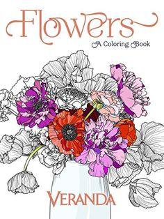 Veranda Flowers A Coloring Book By Amazon