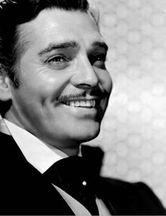 "Clark Gable ""Rhett Butler"" I had such a crush on him! Saw G. W. T. W. Umpteen times, watched every movie he starred in, read everything about him I could get my hands on!"