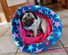 Clarabellchen: Ein Kuschelsack für den Hund