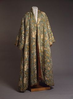 Peter the Great`s silk robe