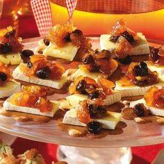 Den milda osten, pepparkakan och en chutney med lite sting blir en perfekt kombination.