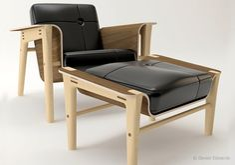 Club chair - Photo 1 | Silla Club - mas mobiliario diseño y arquitectura