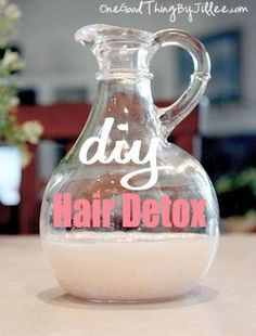 How To Do Your Own DIY Hair Detox
