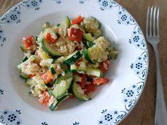 Reis mit Gemüse aus der Pfanne #Rezept #omnomnom #nomnom
