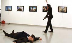 Turquía: fotógrafo captura momento exacto en que el embajador ruso fue asesinado a tiros