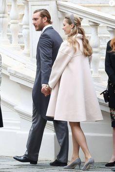 Monaco Princely Family Celebrate National Day Nov. 19, 2016 Pierre and Beatrice