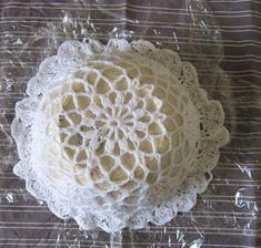 crochet doily starching stiffening
