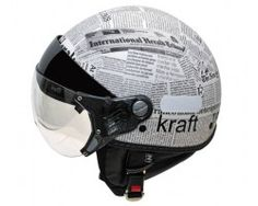 Capacete Plus Personalizado News Kraft