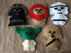 Star Wars Themed Baby Mobile - Felt Plushies