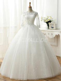 Chicmall.com supplies sequins church peaks to spring - summer ball dress jewel elegant and luxurious wedding dress wedding dresses 2017