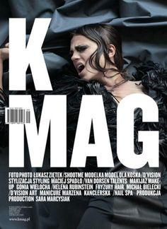 K Magazine cover