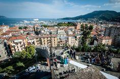 Castello S.Giorgio di La Spezia panoramica del rito civile