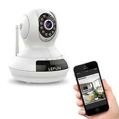 Wireless Camera, LeFun? Baby Monitor WiFi IP Surveillance Camera HD 720P CamHuf