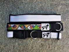 Paint your Eco-Dog Collar, DIY-Design, Handmade, Available in Different Sizes, Made with White Upcycle Fabric, Click Buckle and Webbing Diy Dog Collar, Custom Dog Collars, Dog Friends, Gifts For Friends, Dog Treat Bag, Family Gifts, Craft, Diy Design, Upcycle