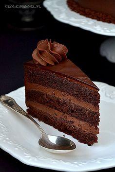 Bake My Cake, Chocolate Cake, Tiramisu, Food And Drink, Birthday Cake, Sweets, Baking, Ethnic Recipes, Cake