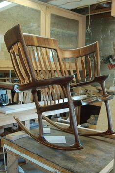 This creative rocking chair might just be the perfect gift for all those grandparents out there.