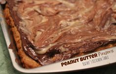 Peanut Butter Fingers | Kathy's Kitchen Table - You won't be able to keep your fingers out of the pan!