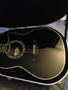 1869 Ovation Custom Legend Acoustic Electric Guitar