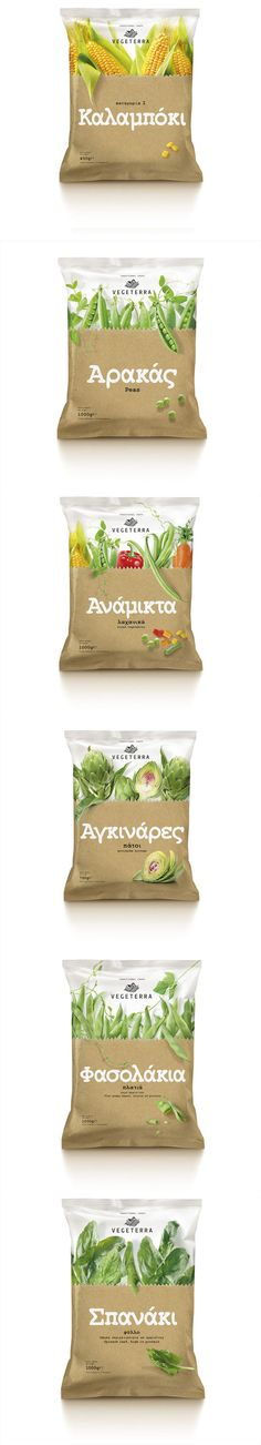 Food Packaging: Vegeterra Frozen Vegetables