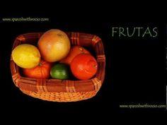 Frutas | Aprende español | Vocabulario