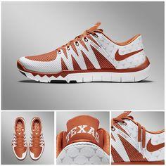 Texas Longhorn Nike Free Trainer