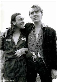 Ewan McGregor and Jude Law