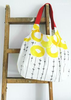 DIY Charlie Bag mit Gurtband und Futter | sewing a Charlie Bag by Burda Style with cotton webbing | was eigenes Blog