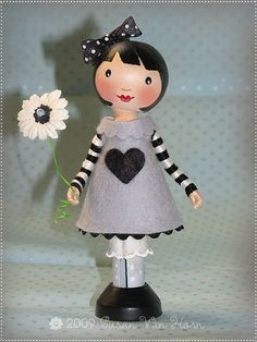 My Sweet Imaginations: some really adorable clothespin dolls on this site; unfortunately no tutorial.