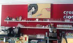 opera esposta in una caffetteria a Lodi #telealternative #boriani2.0