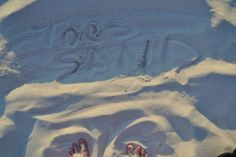Sonja was inspired while taking a picture of her toes in the sand. #visitflorida