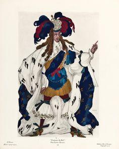 Léon_Bakst_Costume_du_Roi