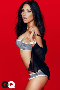 A gorgeous tech-ie nerd who is hilarious and doesn't take herself seriously...Badass. Olivia Munn