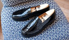 J.M.Weston 180 loafer patent leather