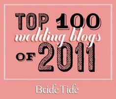 Top 100 Wedding Blogs