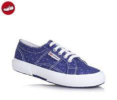 2750 Cotu Classic, Sneakers Basses Unisexe Adulte - Bleu - Blue - Blau (Navy-White) - 41 EUSuperga