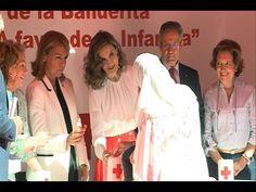 Doña Letizia, gran anfitriona el Día de la Banderita