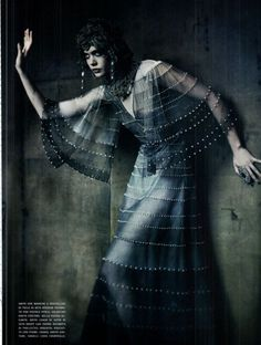 Paolo Roversi    like the backdrop
