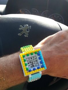 Beppe's proud of his new #Nanoblock watch... and happy of saving 40%! http://tribeatwork.com/en/nanoblock/