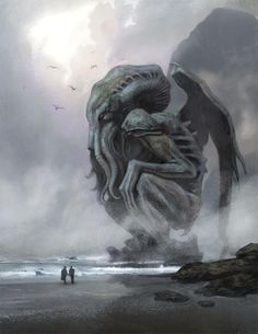 """Cthulhu in the Mist"" by Nathan Rosario"