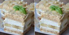 Banánové rezy bez pečenia - Receptik.sk Krispie Treats, Rice Krispies, Homemade Cakes, Vanilla Cake, Muffins, Cupcakes, Sweets, Easy, Recipes