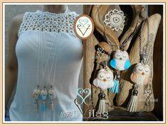www.facebook.com/szilvilag  egyedi kézzel varrt gyapjúfilc bagoly medál,  felt owl jewel