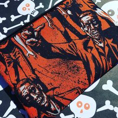 Zombies Zipper Pouch: Horror, Alexander Henry. Free Gift Included.
