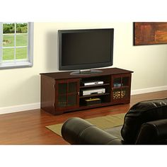 "Harcourt TV Stand for TVs up to 60"", Mocha"