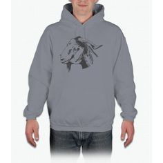 Lovely Goat Design For Animal Goat Lovers Sketched chicago cubs Hoodie