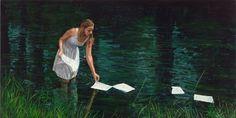 """'Palabras Flotando"""" de Michele del Campo (1976)"""