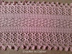 Quite Contrary wrap - pattern by Cherry Heart and using Drops Safran yarn